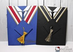 Cap & Gown Grad Cards by maestra - Cards and Paper Crafts at Splitcoaststampers