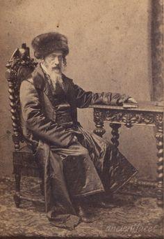 Chief Rabbi in Krakow, Poland, 1861