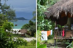 Kambodschas schönste Inseln und Dauerregen. Regen im Paradies