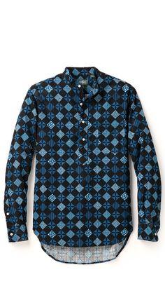 Gitman Vintage popover shirt East Dane Exclusive