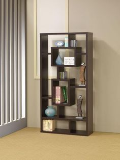 800259 Wall Unit Bookcase/Bookself in Cappuccino Finish | New $ Sale $ Friends Discounted Price $