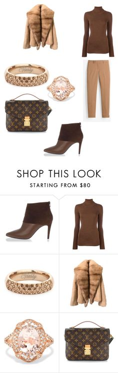 """Style Does Have Boundaries!"" by quasia-taylor on Polyvore featuring Pierre Hardy, Laneus, Vitaly, Effy Jewelry, Louis Vuitton and White House Black Market"