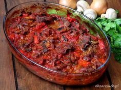 Polish Recipes, Us Foods, Finger Foods, Chili, Food And Drink, Menu, Soup, Cooking Recipes, Lunch