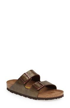 Birkenstock 'Arizona' Soft Footbed Sandal (Women) available at #Nordstrom
