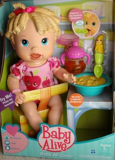 Baby Alive Doll    {Energizer Bunnies' Mommy Reports Christmas Picks for Kids for 2012}