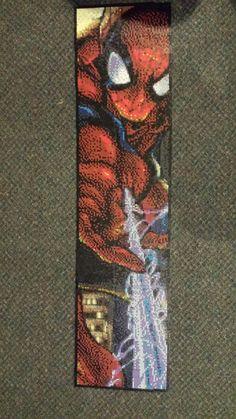 Spider-Man perler made with 19,044 beads by Spevial101.deviantart.com on @DeviantArt