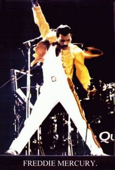 A beautiful King, who was part of King, Freddie Mercury, no one will ever match him... Miss him....