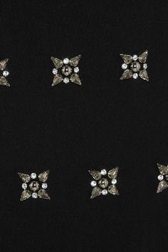 MICHAEL Michael Kors|Lux crystal-embellished jersey dress|NET-A-PORTER.COM