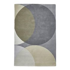 ACHICA   Think Elements Rug, Grey, Choose Size