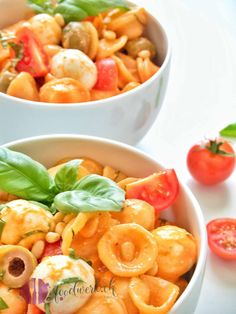 Toskanischer Pasta-Salat mit Orecchiette - My list of the most healthy food recipes Pasta Recipes, Salad Recipes, Healthy Recipes, Food Blogs, Tuscan Pasta, Pasta Salat, Side Dishes For Bbq, Barbacoa, Easy Cooking