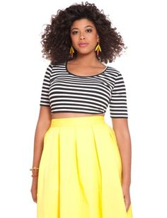 Just.... this whole fit is life right now. The things I could do with the yellow midi, not to mention the top would go with my black tulle skirt. I bet it fits like a dream. Mwah~