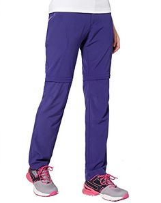 Makino Womens Convertible Hiking Pants M131612008 Purple US LargeAsian XXL -- Continue to the product at the image link.