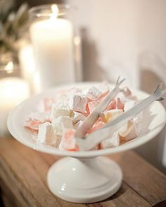 Candles and Turkish Delight!