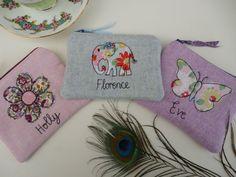 Handmade Personalised Girls Ladies Purse by PeacockEmporiumLady, £8.50