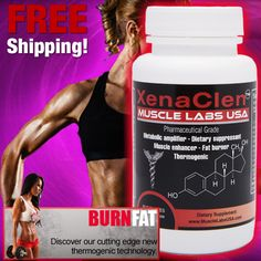 "XenaClen(TM) ""Clen"" 60 Capsules Fat Burning Pills"