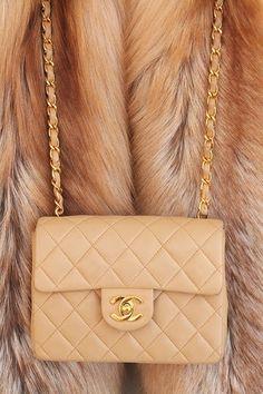 Beautiful Tan Cocoa Chanel Purse