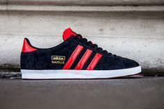 #adidas Gazelle OG - Black/Red #sneakers