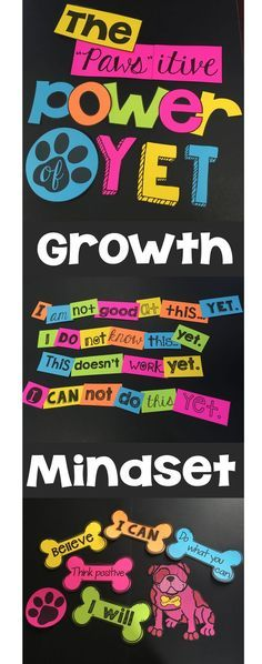 The Power of Yet Growth Mindset