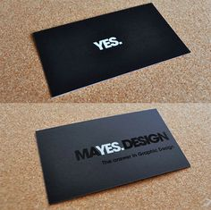 Myes Design's Die-cut Business Cards HQ