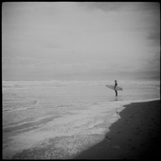 """""""Looking Back"""" Black & White Photograph San Francisco California, Looking Back, Surfing, Europe, Black And White, Landscape, Film, Architecture, Beach"""