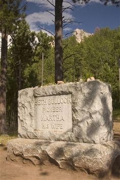 Famous Sheriff Seth Bullock is one of several western notables buried in Deadwood's Mount Moriah Cemetery.