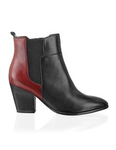 Tamaris Glattleder-Bootie - schwarz - Gratis Versand   Schuhe   Boots & Stiefeletten   Online Shop   1523609640