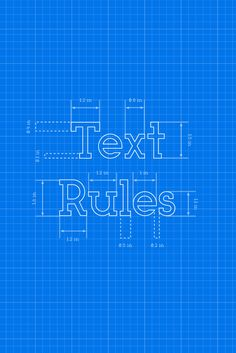 We've Got All TheText Rules You Need to Follow in 2016 to Achieve Awesome Designs!