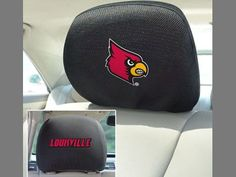 Head Rest Cover - University of Louisville