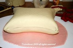 How to make a Pillow (Cushion) Cake by Toni Brancatisano