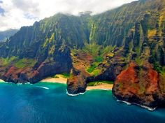 Honopu Beach, Kauai, Hawaii