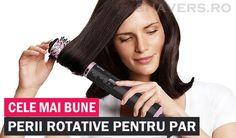 Peria rotativă pentru păr îți permite să obții ușor, în mai puțin de 20 de minute o coafură nouă, plină de volum. Află care sunt cele mai eficiente perii rotative de pe piață...