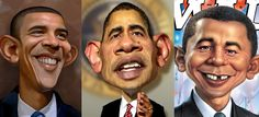 25 Most Funniest Obama Caricatures and Photo manipulations