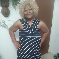 Versatile dress/skirt Black w/white stripes.. This can be worn in many styles, including as a skirt.. Cato Dresses