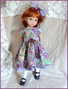 """Batik "" Dress for Effner Little Darling 13"" Doll | eBay"