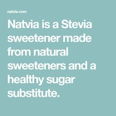 Natvia is a Stevia sweetener made from natural sweeteners and a healthy sugar substitute. Peanut Butter Chocolate Bars, Low Carb Peanut Butter, Healthy Sugar, Healthy Treats, Sugar Free Recipes, Almond Recipes, Hokkaido Baked Cheese Tart, Macadamia Cookies, Victoria Sponge Cake