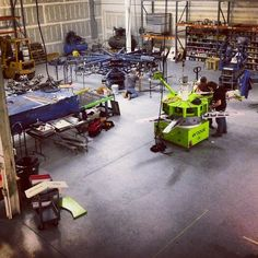 Here is our new production floor with our new addition #sroque #printing #studio #production