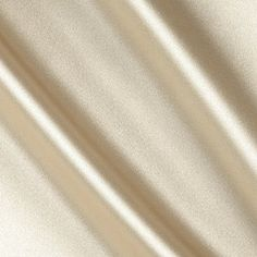Stretch Charmeuse Satin Champagne Fabric from amazon