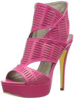 Michael Antonio Women's Kadyn Dress Sandal -- Check this awesome image  : Block heel sandals