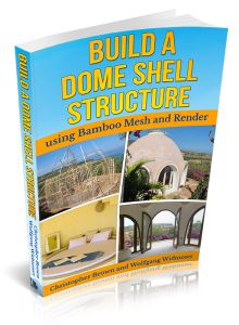 Build a Dome Shell Structure Using Bamboo Mesh and Render