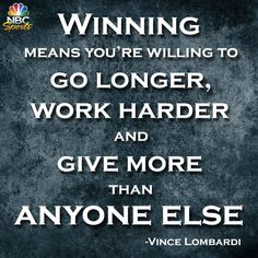vince lombardi quotes - Google Search