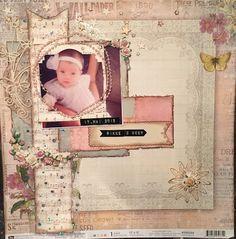 Hekta på papirkunst: LO i vintagestil