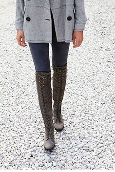 Jeffrey Campbell for Free People Joe Lace Up Boot at Free People Clothing Boutique