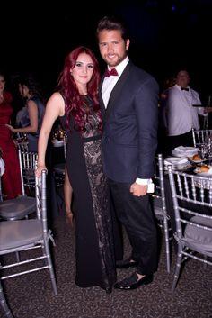 Los momentos más hot de la fiesta de Glamour 15 años. ¡Imperdibles! Dulce María y Andrés Mercado