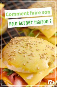 Comment faire son pain à burger maison ?/// #pain #burger #marmiton #recette #cuisine