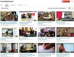 10 canales de Youtube fundamentales para educadores