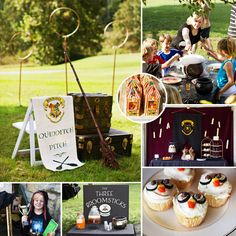 Emily of Smarty Parties worked her magic on this Marvelous Hogwarts Inspired Harry Potter Party! #HarryPotter