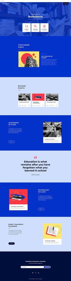 Share your passion for knowledge and education with this bright and engaging template design. Finally, you'll have a dedicated space to share your ideas, teaching experiences, and useful information for readers, peers and parents, alike. Simply click to edit each post and watch your blog become the go-to source for educational tips and findings.