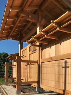Pergola Attached To House Plans Code: 8076760632 Timber Architecture, Japan Architecture, Chinese Architecture, Architecture Details, Japanese Fence, Japanese Joinery, Japanese Woodworking, Japanese Buildings, Japanese Style House