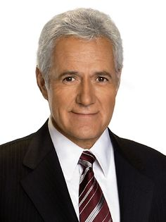 Alex Trebek - Smart and handsome!