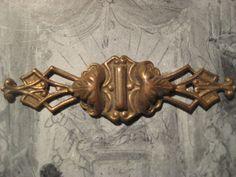 1 Older Vintage 64mm Ornate Stamped Brass Bar Pin by StarPower99, $4.20